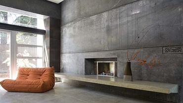 Surowy beton we wnętrzu