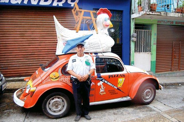 Garbusy mają w Meksyku wszelkie możliwe zastosowania.