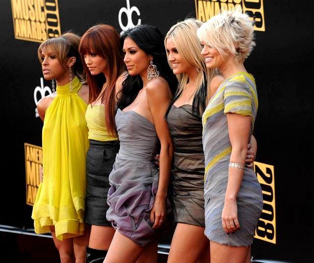 Pussycat Dolls na gali American Music Awards w Los Angeles