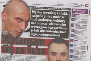 Szymon Wydra i Marcin Najman/Super Express/25.11.08