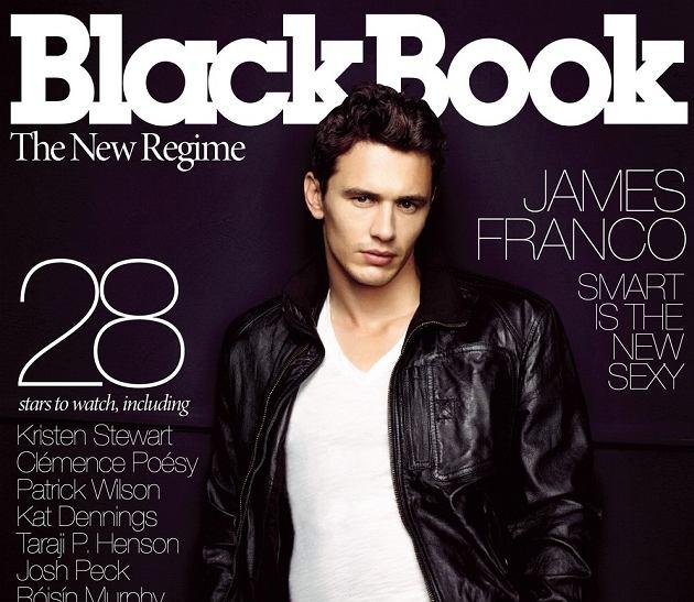 James Franco/magazyn BlackBook Bold