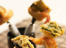 Krewetki z warzywami w tempurze - ugotuj