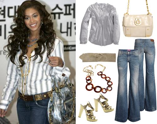 Beyonce trendy na wiosnę