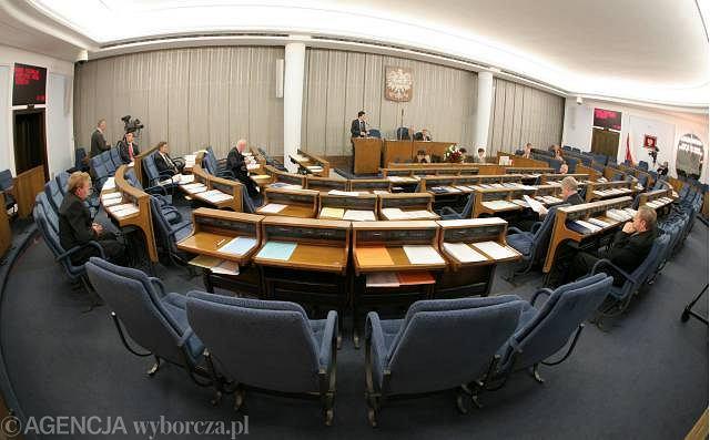 Sala posiedzeń Senatu RP