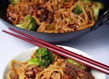 Brokuły z wołowiną z woka - ugotuj