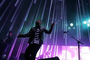 Thom Yorke na koncercie w Toronto