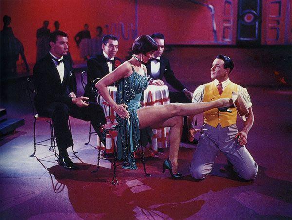 Deszczowa piosenka Cyd Charisse Gene Kelly