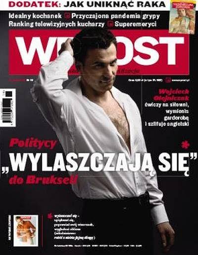 Okładka tygodnika ''Wprost'' sprzed zmiany z 2010 roku