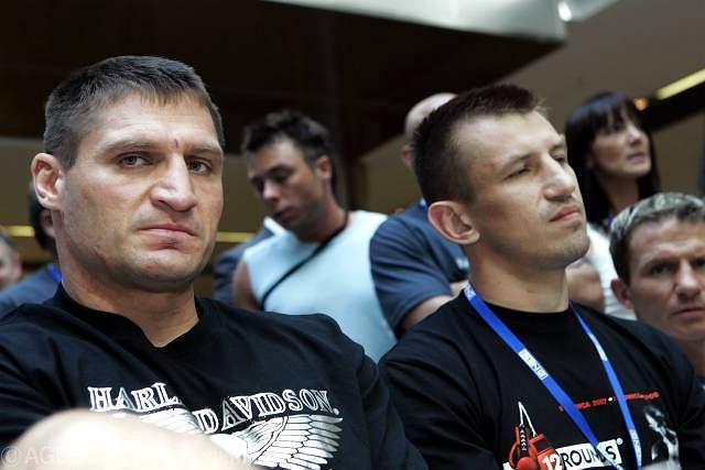 Andrzej Gołota i Tomasz Adamek