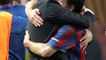 Josep Guardiola i Lionel Messi