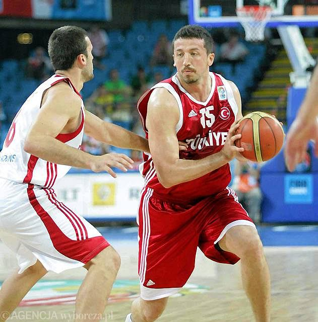 Hedo Turkoglu (Turcja) w meczu z Bułgarią