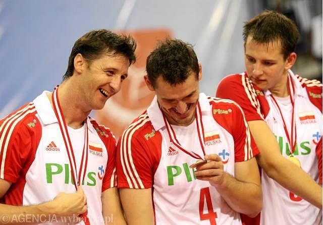 Polscy siatkarze z medalami ME