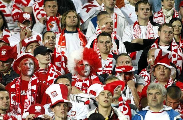 Kibice reprezentacji Polski