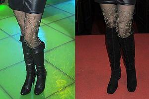 Dominika Gawęda nie jest i pewnie już nie będzie ikoną mody. Tym razem, na imprezie RMF FM Dominika wyglądała całkiem w porządku. Zastanawiamy się tylko, dlaczego w trakcie imprezy zmieniła kozaki? Myślała, że nikt nie zauważy? A może właśnie mieliśmy zauważyć? No chyba, że z kimś zamieniła się butami...