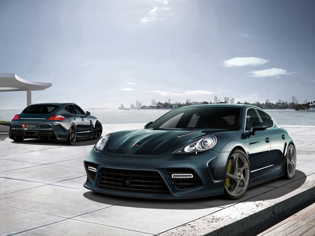 Porsche Panamera od Mansory