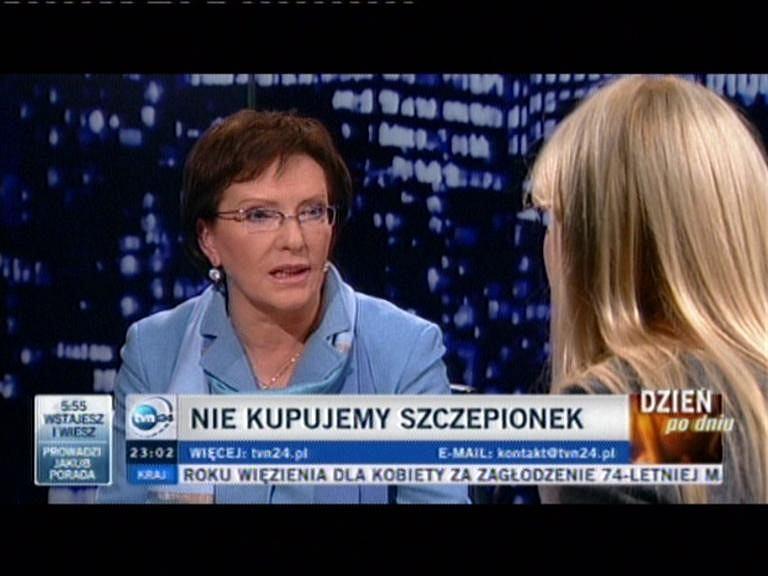 Ewa Kopacz w
