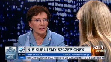 """Ewa Kopacz w """"Kropce nad i"""""""