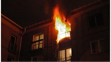 Warszawa Pożar Przy Złotych Tarasach