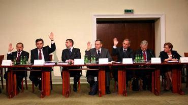 Posiedzenie komisji hazardowej