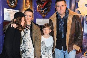 Anna Maria Jopek z mężem Marcinem Kydryńskim i synami. Bardziej podobni do mamy czy do taty?