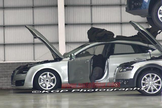 Zdjęcia szpiegowskie Audi A7