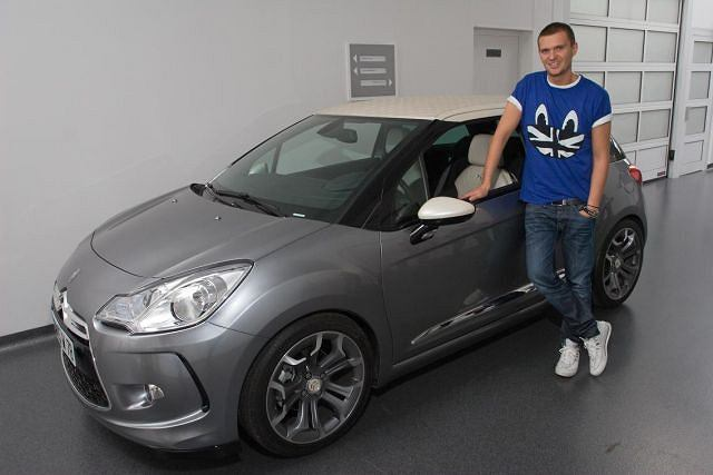 Citroën DS3 i Maciej Zień