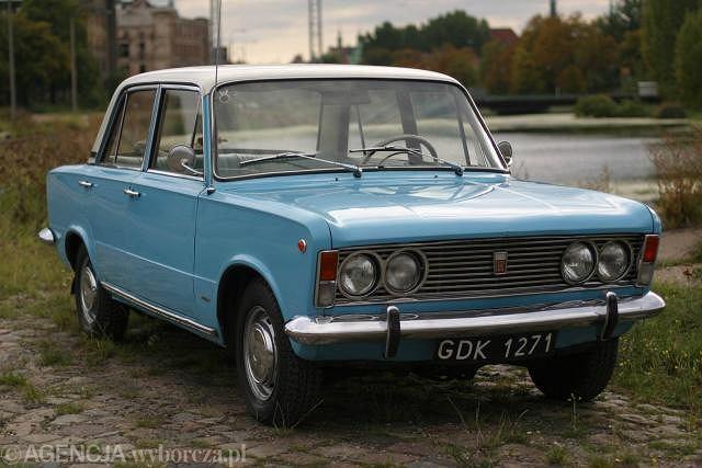 Polski Fiat 125p, model z 1968 roku