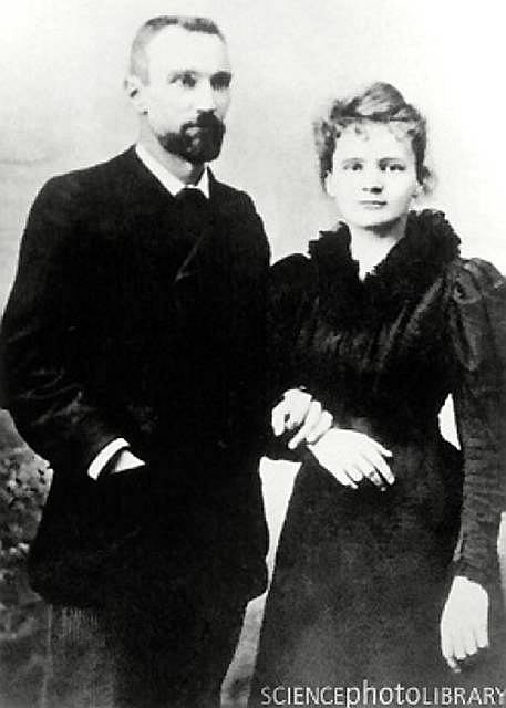 Małżeństwo Curie, 1895