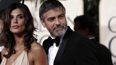 George Clooney i Elisabetta Canalis