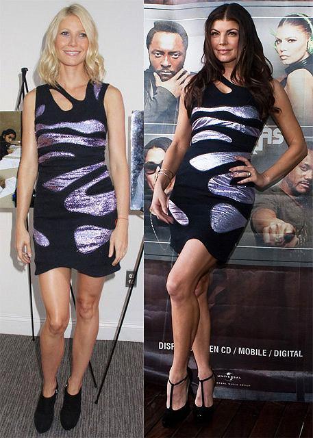 Gwyneth Paltrow vs. Fergie