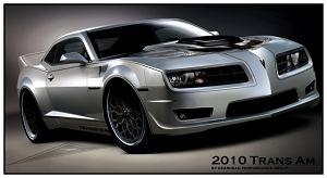 Stary, nowy Pontiac Trans Am