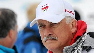 Roman Bondaruk, były już trener Tomasza Sikory