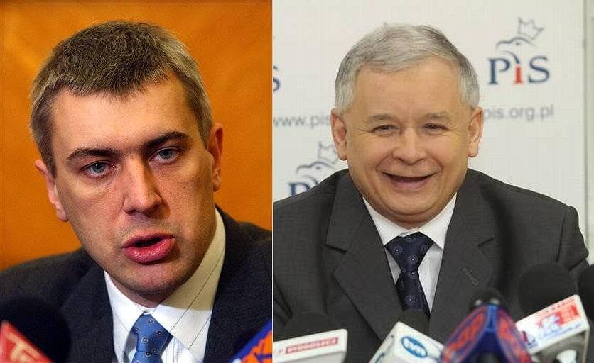 Roman Giertych i Jarosław Kaczyński byli niegdyś koalicjantami