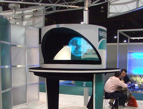 Trade show hologram