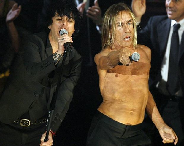 Iggy Pop i Billy Joe Armstrong z Green Day