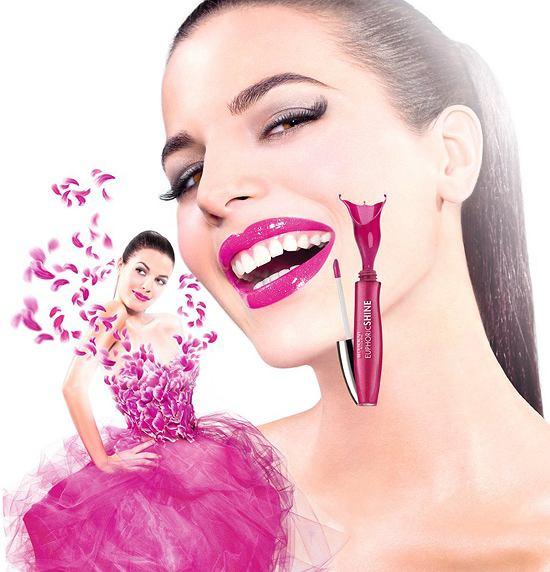 Euphoric Shine Lip Gloss - błyszczyk wyzwalający hormon szczęścia