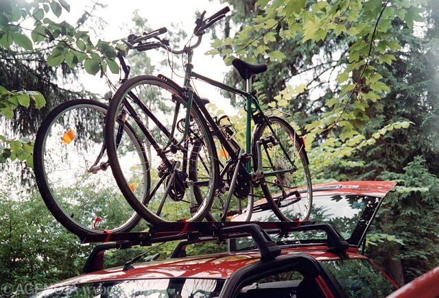 Model dachowy jest wciąż najpopularniejszym rodzajem bagażnika rowerowego