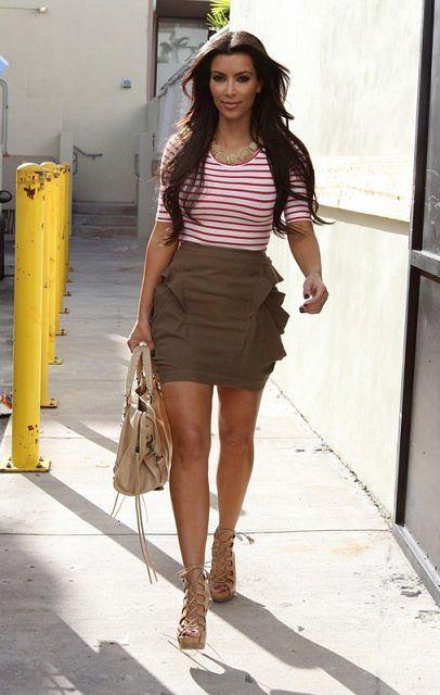 Kim Kardashian na wakacjach w Miami