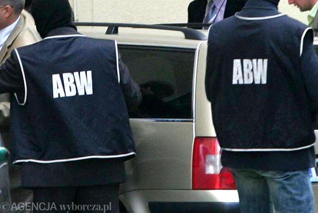 Funkcjonariusze ABW