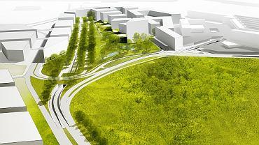 Tak ma wyglądać okolica Okęcia według architektów z pracowni JEMS