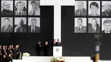 Donald Tusk przemawia na Pl. Piłsudskiego