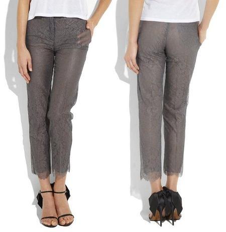 Koronkowe spodnie Valentino