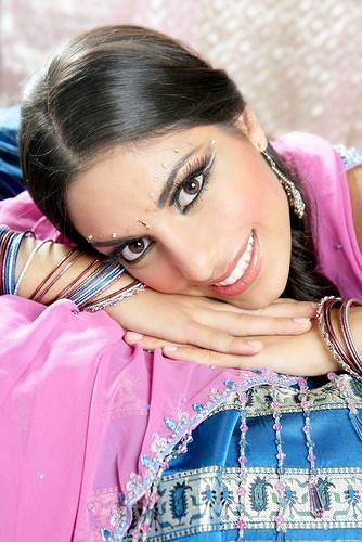 Makijaże w indyjskim stylu