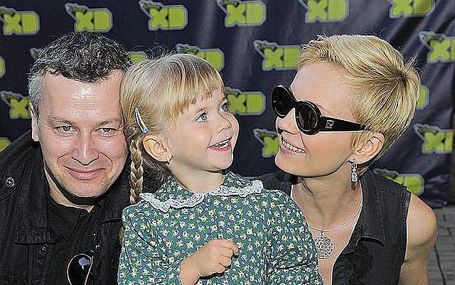 Aktorska para z córką