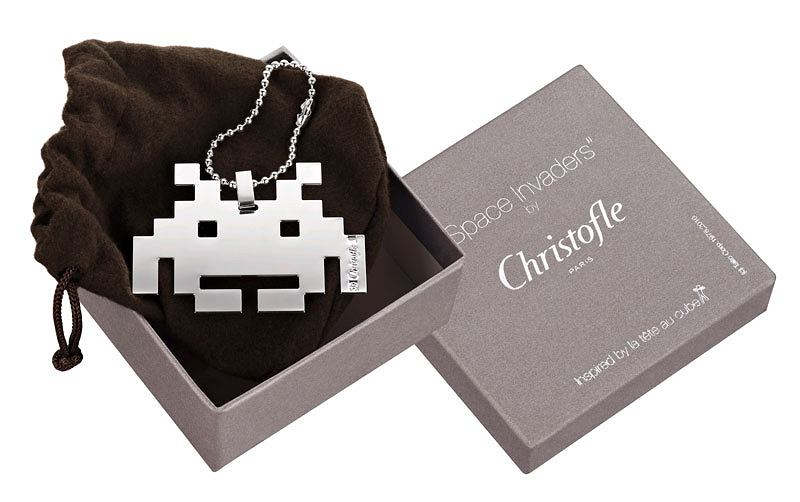 Space Invaders by Christofle