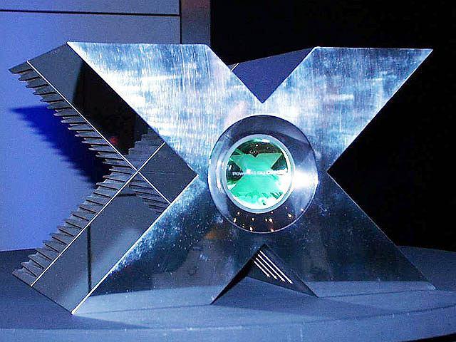 Zapowiedź konsoli Xbox na GDC 2000