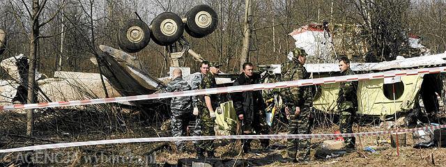 Smoleńsk, szczątki polskiego samolotu