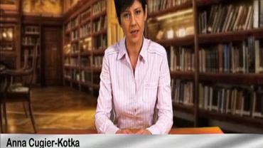 """Anna Cugier-Kotka w swoim """"spocie windykacyjnym"""""""