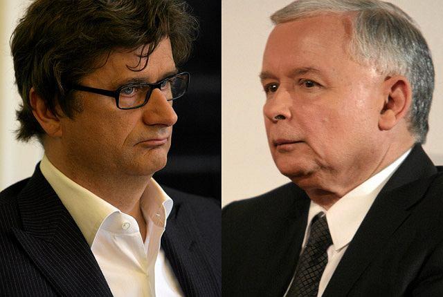Janusz Palikot i Jarosław Kaczyński
