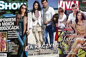 Marta Kaczyńska na okładkach czasopism